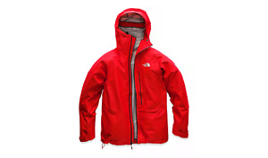 NWT MENS THE NORTH FACE SUMMIT L5 PROPRIUS GORE-TEX JACKET $425 M Fiery Red