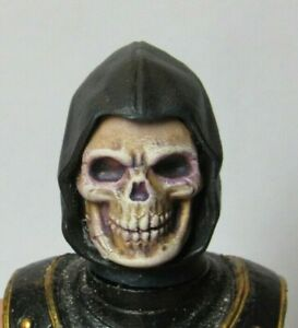 HEAD ONLY Mythic Legion Four Horsemen Custom Painted Grim Reaper HEAD ONLY