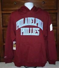 NWT Mitchell Ness Philadelphia Phillies Cooperstown Collection Playoff Hoodie L
