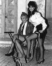 "Vicki Michelle stockings / Kim Hartman Allo Allo 10"" x 8"" Photograph no 16"