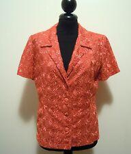 CULT VINTAGE '80 Giacca Donna Viscosa Rayon Woman Jacket Sz.S - 42