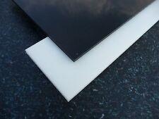 Zuschnitt Platte aus POM - C schwarz u. weiß Stärke 4 mm POM Acetal (97,96€/m²)