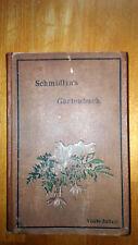Botanik Schmidlin´s Gartenbuch