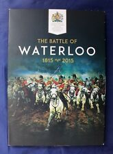"2015 Gold & Bronze Medallion Set ""Battle of Waterloo"" in Album   (J2/1)"