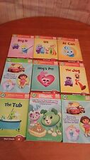 Lot of 9 LeapFrog Tag Junior Board Books Scout & Voliet Learning Reading Tote 11