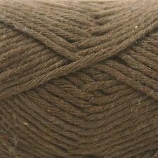 Rico Creative Cotton Aran  - 100% Cotton Knitting & Crochet Yarn - Brown 58