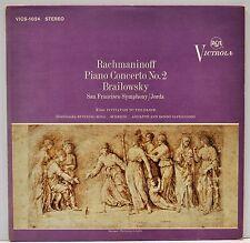 """ENRIQUE JORDA  """"Rachmaninoff Piano Concerto No. 2""""   1963 Vinyl LP    EX"""