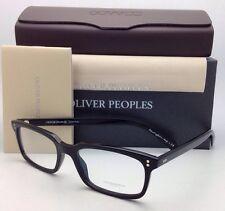 New OLIVER PEOPLES Eyeglasses DENISON OV 5102 1005 51-17 Rectangular Black Frame
