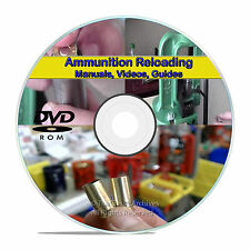 Learn to Reload .45 9mm .223 Ammo Ammunition Reloading Firearm Manuals DVD V22
