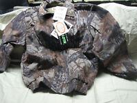 medium reg Realtree camo grey PELLA USA saddle cloth jacket coat unlined