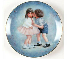 Rosemary Calder Collector Plate (1981) First Kiss