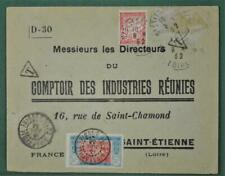 FRANCE COLONIES COTE DE IVOIRE  STAMP COVER TO  FRANCE   (Y129)