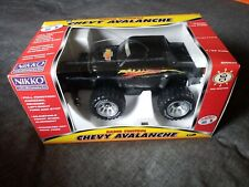 Nikko RC Chevy Avalanche Monster Truck - Black New