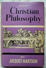 An Essay on Christian Philosophy Jacques Maritain (H/C first edition 1955)