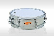"""12 inch Electronic Snare Drum with Mesh Head / Dual Trigger / Silver / 12"""" eDrum"""
