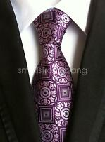 Fashion Mens 100% Silk Tie Necktie Paisley JACQUARD Neck Ties Wedding party gift