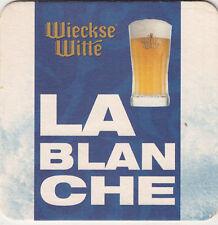 SOUS BOCK UNDER GLASS BEER COASTER BIERE BIER WIECKSE WITTE LA BLANCHE