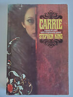 Carrie by Stephen King 1st BCE 1974 HCDJ