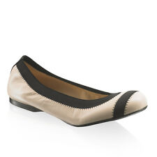 Russell & Bromley Stuart Weitzman GIVEABLE Stretch Ballerina nappa leather £235