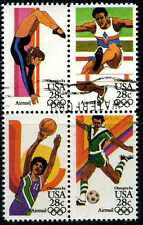 US #C101-104 Airmail Olympic Games Used Block of 4