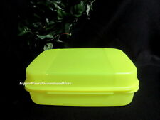Tupperware NEW Craft Storz a lot Signature Line Container Electric Neon Yellow