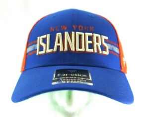 New York Islanders NHL Blue/Orange Baseball Cap Snapback