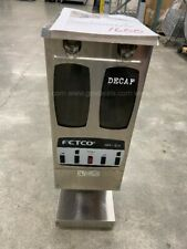Fetco Gr 22 Commercial Coffee Grinder Stainless 1ph 57a 120v Dual Hopper