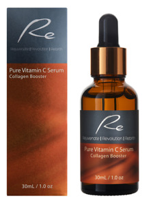 Pure Vitamin C Serum Collagen Booster with Hyaluronic Acid - 30ml