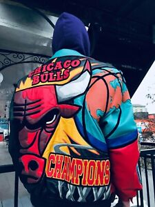 Jeff Hamilton NBA Chicago Bulls Limited Edition Jacket 1997
