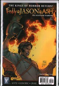 FREDDY vs JASON vs ASH: NIGHTMARE WARRIORS #2 Horror (2009) NM/M (9.8)
