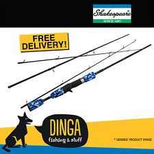 "Shakespeare Slingshot Spin 7'0"" 10kg 4PC Heavy Action Travel Fishing Rod"