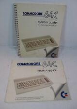COMMODORE 64C System and Introductory Guides #2 *VGC*