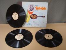 78 RPM 3 Record Set Ruth Wallis and her Latin Party Rhythms Wallis Original