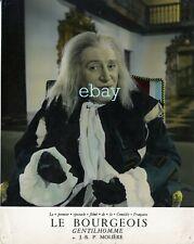 *Georges Chamarat Le Bourgeois Gentilhomme photo cartoline vintage