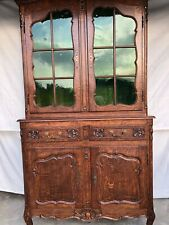 Beautiful Antique 18th C. Louis XV Display cabinet with original glass