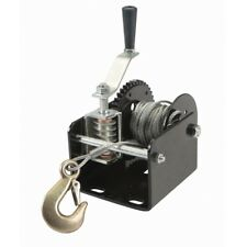Portable worm gear 1 Ton Capacity Hand Winch easy to mount