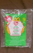 McDonalds ~ 1993 Teenie Beanie Babies #9 ~ CLAUDE~Factory Sealed Bag ~FREE SHIP!