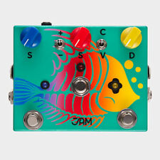 JAM Pedals Ripply Fall Chorus / Vibrato / Phaser Guitar Effects Pedal