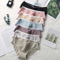 6 piece lady/'s Milk silk printing waist edges panties free shipping #842