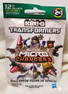 KRE-O - Transformers Micro Changers - V3 *NEW* SEALED - 2015 - 2 in 1 Hasbro