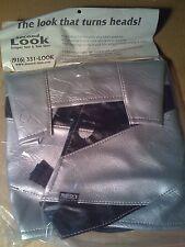 NEW 2002 YAMAHA YZF-R1 TANK BRA Silver & Black SECOND LOOK SPORTBIKE COVERS