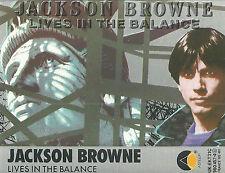 JACKSON BROWNE LIVES IN THE BALANCE CASSETTE ALBUM ASYLUM POP ROCK 1986