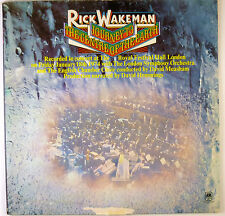 "12"" LP-Rick Wakeman-Journey to the centre of the Earth-b3167"