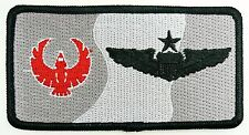 USAF 43rd FTS FLYING TRAINING SQUADRON NAMETAG PATCH