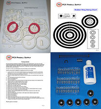 1981 Bally Centaur Pinball Tune-up Kit - Includes Rubber Ring Kit