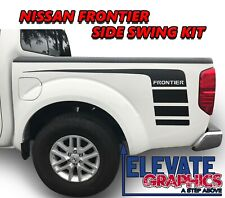 For Nissan Frontier Stripes Vinyl Graphics 3M Hood & Side Decals 2005-2020