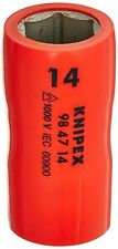 """Knipex 14 mm Insulated Socket 6 Point 1/2"""" Drive 98 47 14 *NEW*"""