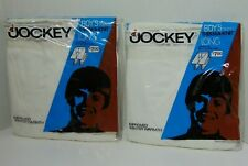 2 NEW Vintage 1973 JOCKEY Suprel Therma-Knit Long Underwear Size 30 Made in USA