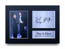 Gillian Anderson Signed Pre Printed Autograph Photo Gift For a X-Files Fan