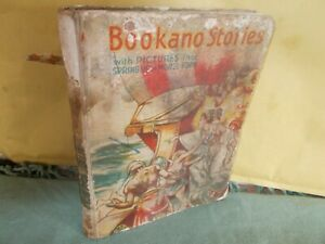Bookano Story Book No.12 With Pictures That Spring Up In Model Form VERY RARE